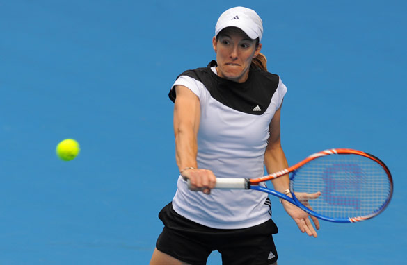 Justine Henin has looked strong but has much to prove before she wins another Grand Slam.