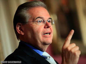 DSCC Chairman Sen. Bob Menendez said Tuesday night that he had 'no interest in sugar coating what happened in Massachusetts.'