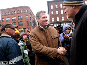 Scott Brown says if he wins the special election to fill the late Sen. Ted Kennedy's U.S. Senate seat, he wants to play basketball with President Obama.