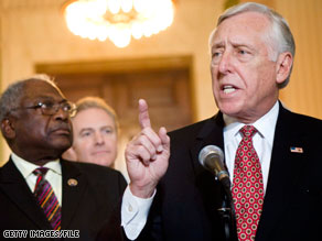 House Majority Leader Steny Hoyer said that the Senate health care bill is 'clearly better than nothing.'
