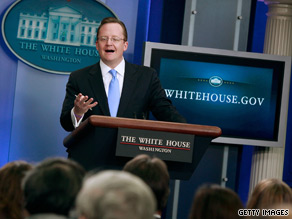 White House spokesman Robert Gibbs said Wednesday that Republicans are stalling on major legislative issues.
