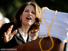 Rep. Michele Bachmann was told to 'act like a lady' by Sen. Arlen Specter on Wednesday.