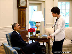 White House senior adviser Valerie Jarrett said Sunday that the president has brought about 'enormous change.'