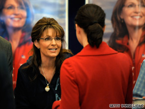 Former Alaska Gov. Sarah Palin will make a return trip to Michigan in May.