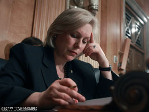 Sen. Kirsten Gillibrand fired back at Harold Ford Jr. Tuesday.
