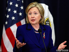 Secretary of State Clinton said Tuesday that she &#039;deeply resents&#039; of the U.S. aid mission in Haiti.
