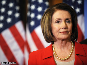 Pelosi is seeking to calm nervous Dems.