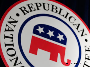 A Republican National Committee staffer who went to a risque Hollywood nightclub with party donors and then expensed the tab has been fired.