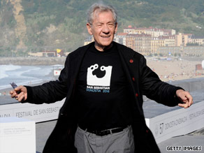 Sir Ian McKellen.