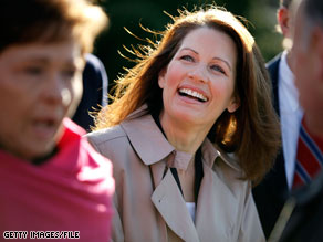 Rep. Michele Bachmann has dropped out of next week's Tea Party Convention.