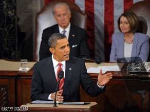 In his State of the Union speech Wednesday night, President Obama touted a slew of federal initiatives aimed at stimulating small business hiring and growth.