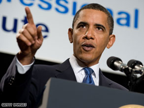 President Obama while speaking to Congressional Republicans cited a CNN poll released Friday.