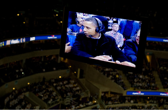 Obama takes flak for ESPN appearance