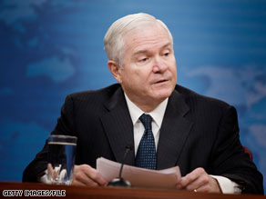 According to Pentagon officials, Defense Secretary Robert Gates will be asking for $708 billion, including funding for the wars in Iraq and Afghanistan -- $44 billion more the 2010 budget of $664 billion.