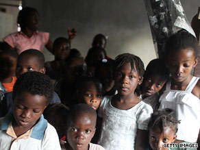 A large number of Haitian orphans are being sent to countries including the United States and Canada.