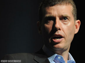 David Plouffe appeared in a web video released Tuesday.