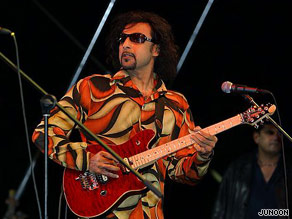 Salman Ahmad is the lead singer and founding member of Junoon.
