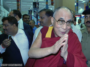 The Dalai Lama will meet with President Obama in February.