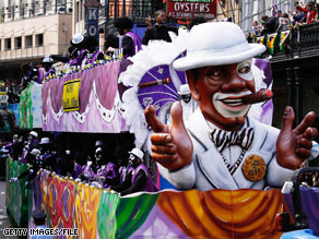 A mayoral election is scheduled for Saturday in New Orleans amidst Mardi Gras celebrations.