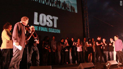 'Lost' season premiere party in Hawaii