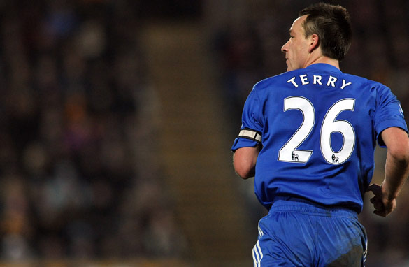 Terry has tried to weather the storm by turning out for his club side Chelsea.