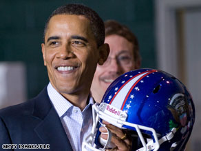 President Obama will host a Super Bowl party this weekend at the White House.