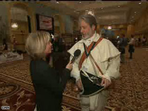 Randi Kaye interviews William Temple, Vice President of Golden Isles Tea Party. Tune in tonight for her full report.