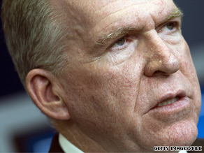 'I'm tiring of politicians using national security issues … as a political football,' Obama aide John Brennan said Sunday.