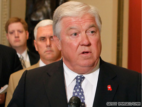 Gov. Haley Barbour said Republican candidates will be elected this November if they stay on message this fall.