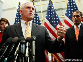 House Republican Conference Chairman Mike Pence is endorsing Marco Rubio, who is facing off against Florida Gov. Charlie Crist in the state's GOP senatorial primary.