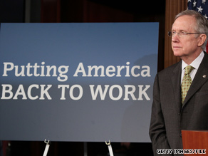 Senate Majority Leader Harry Reid said Tuesday that the Senate must vote soon on the jobs bill.