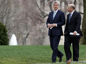 Dimon and Blankfein met with Obama last March.