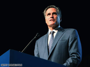 A Gallup poll released Thursday indicates that 14 percent of Republican voters and Republican-leaning independents say they would like to see Mitt Romney as their party's nominee in 2012.