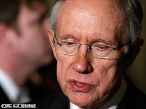 Senator Reid said Thursday that Democrats will offer a slimmed down jobs bill.