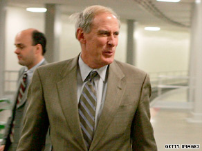 Republican Dan Coats has been the target of political attacks.