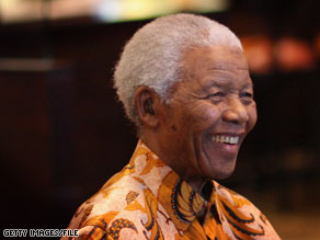 President Obama called Nelson Mandela Friday to mark the 20th anniversary of his release from prison.