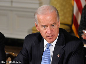 Vice President Biden will travel to the Middle East next month.