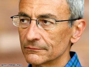 The American political system &#039;sucks,&#039; according to John Podesta.