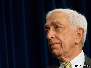 Sen. Frank Lautenberg, D-New Jersey, was hospitalized Monday after taking a fall, his spokesman said.
