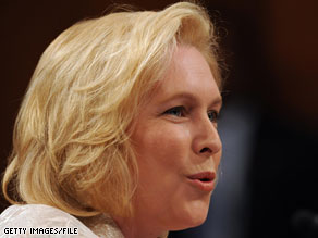 Sen. Kirsten Gillibrand is one of four Senators who signed a letter urging Sen. Harry Reid to consider a rule known as reconciliation.