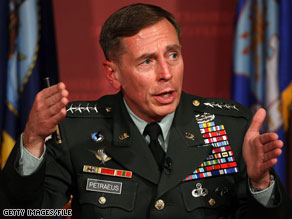 Gen. David Petraeus agreed to pick up Secretary of State Hillary Clinton Tuesday.