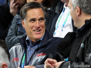 Romney took in the opening weekend at the Winter Olympics in Vancouver.