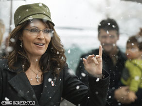 Palin is pitching a TV show.