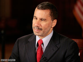 David Paterson lashed out Wednesday at a published report alleging a top aide&#039;s history of drug arrests and alleged domestic violence..