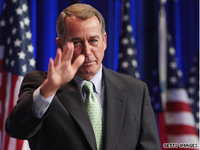 House Minority Leader Boehner touched on the GOP&#039;s relationship with the Tea Party movement during his remarks at CPAC Thursday.