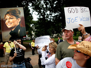 FILE PHOTO: Tea Partiers protested Congress' and Pres. Obama's health care reform efforts back in September.