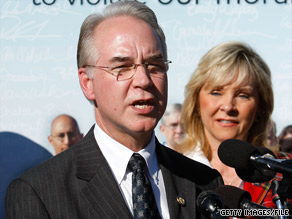Rep. Tom Price, who is the leader of the conservative Republican Study Committee, rallied the CPAC crowd by ticking off a number of Democratic initiatives that he has voted no on.
