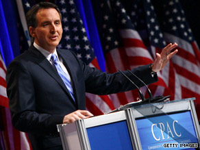 Minnesota Gov. Tim Pawlenty and his wife are meeting with conservative bloggers Friday night for happy hour.
