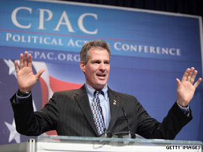 Sen. Scott Brown will vote to support cloture on a $15 billion jobs bill put forth by Senate Majority Leader Harry Reid.