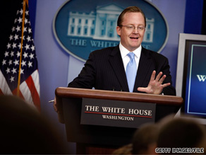 White House Press Secretary Robert Gibbs called some of the partisan tension before Thursday's summit 'locker room material.'